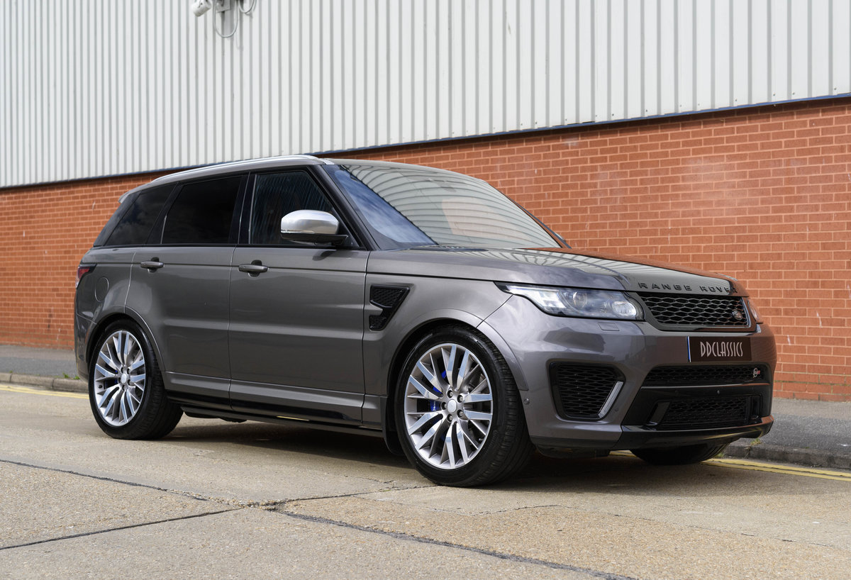 2017 Range Rover Sport SVR (RHD) For Sale (picture 2 of 24)