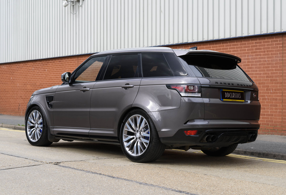 2017 Range Rover Sport SVR (RHD) For Sale (picture 4 of 24)