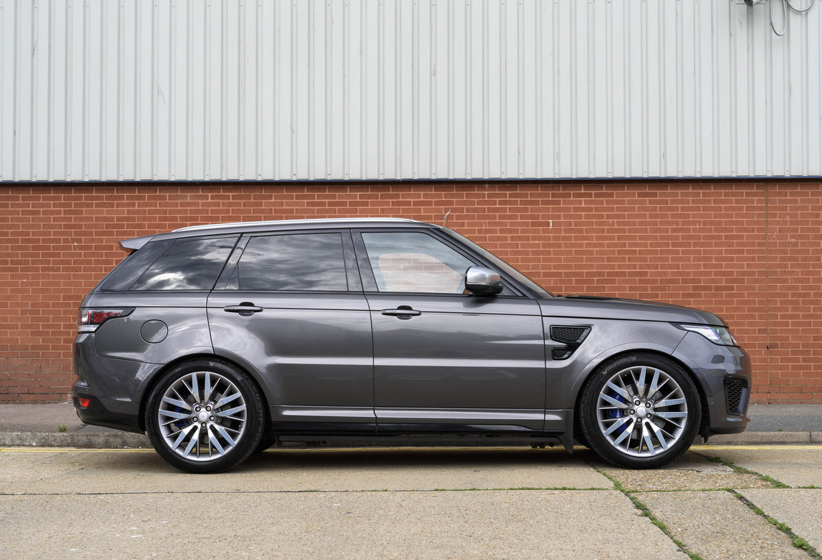 2017 Range Rover Sport SVR (RHD) For Sale (picture 5 of 24)