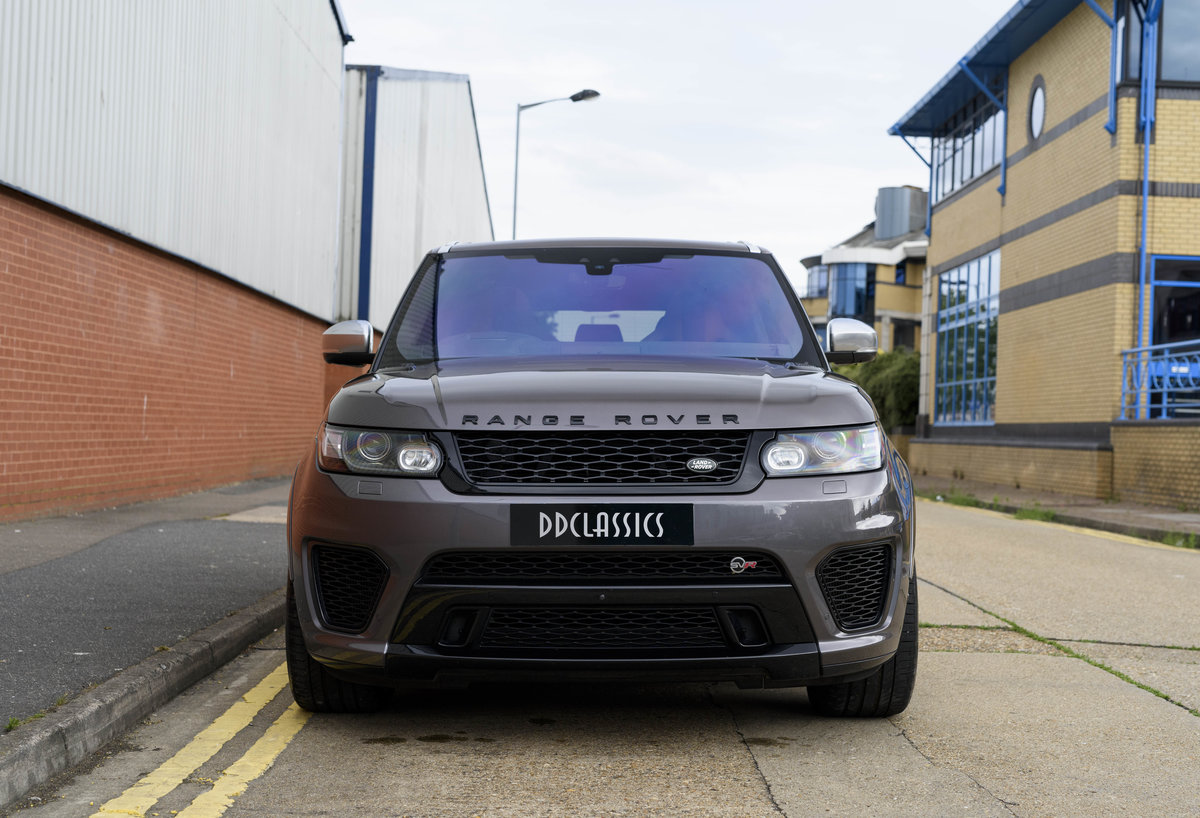 2017 Range Rover Sport SVR (RHD) For Sale (picture 7 of 24)
