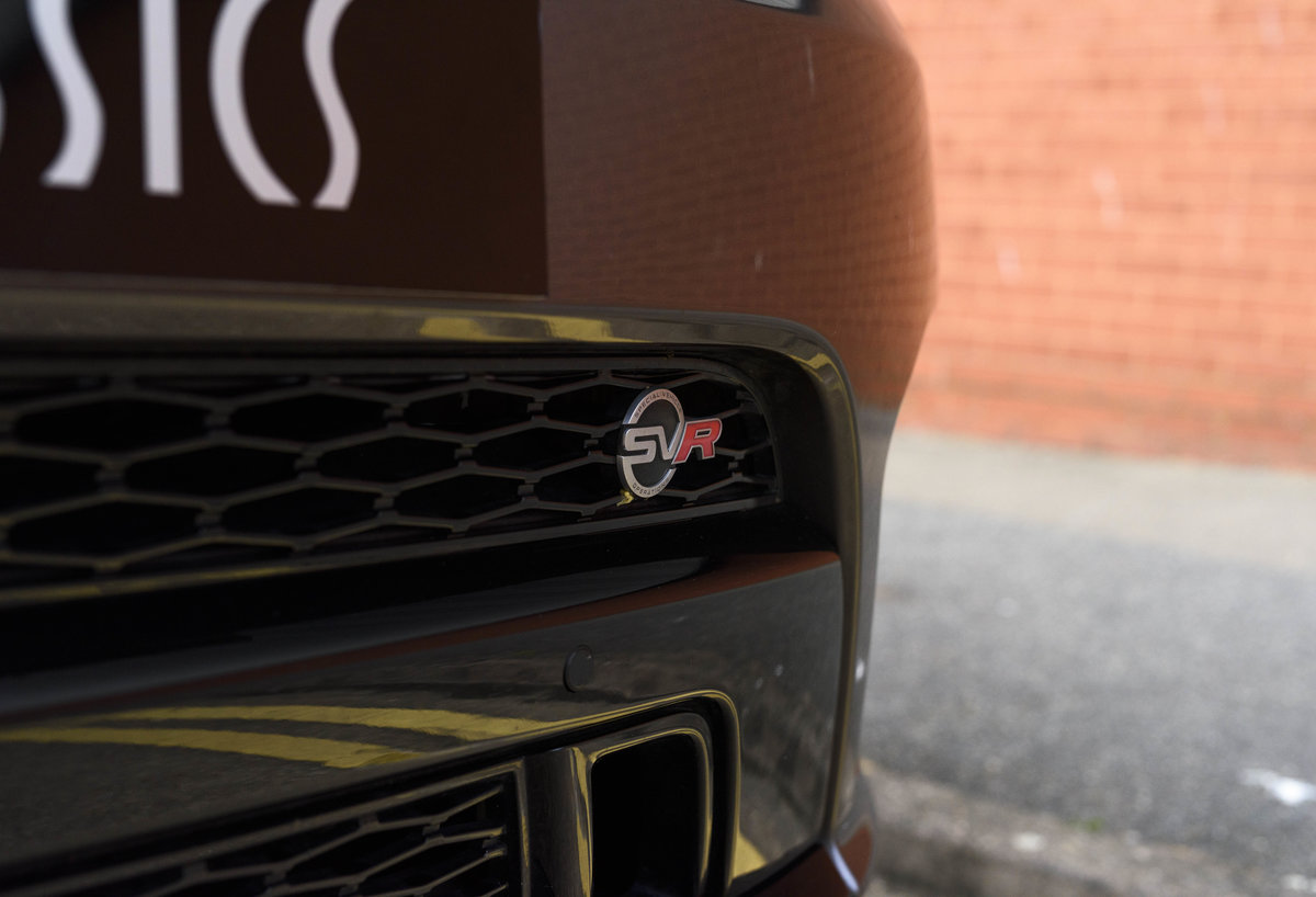 2017 Range Rover Sport SVR (RHD) For Sale (picture 10 of 24)
