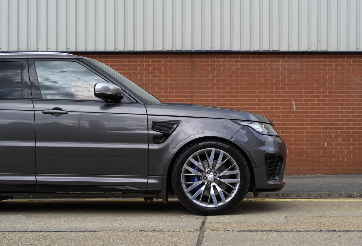2017 Range Rover Sport SVR (RHD) For Sale (picture 11 of 24)