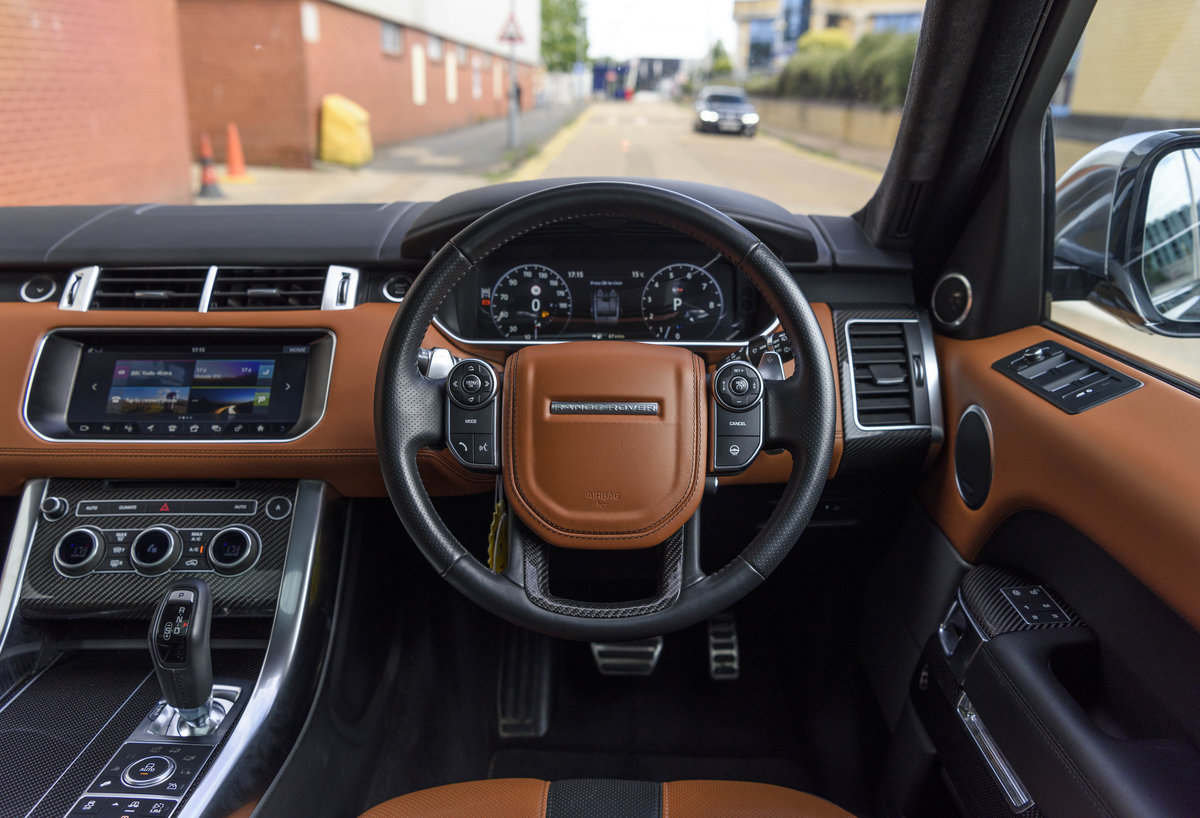 2017 Range Rover Sport SVR (RHD) For Sale (picture 18 of 24)