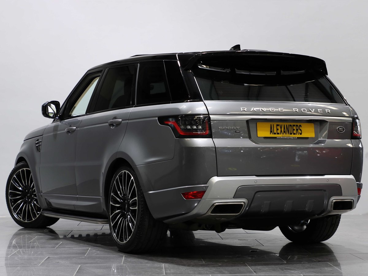 2019 19 69 RANGE ROVER SPORT HSE 3.0 SDV6 AUTO For Sale (picture 3 of 6)
