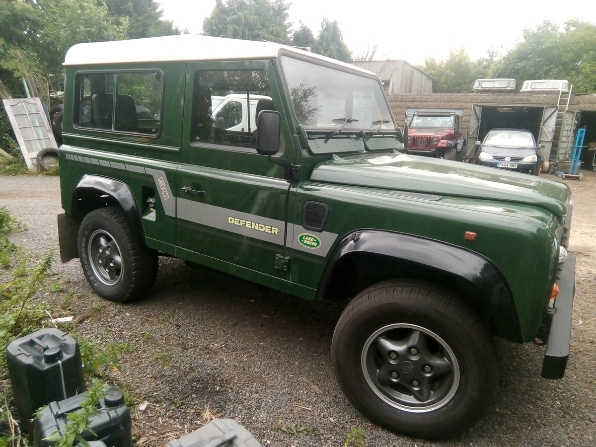 1996 Land rover defender 90,vgc,low miles,one owner For Sale (picture 1 of 6)