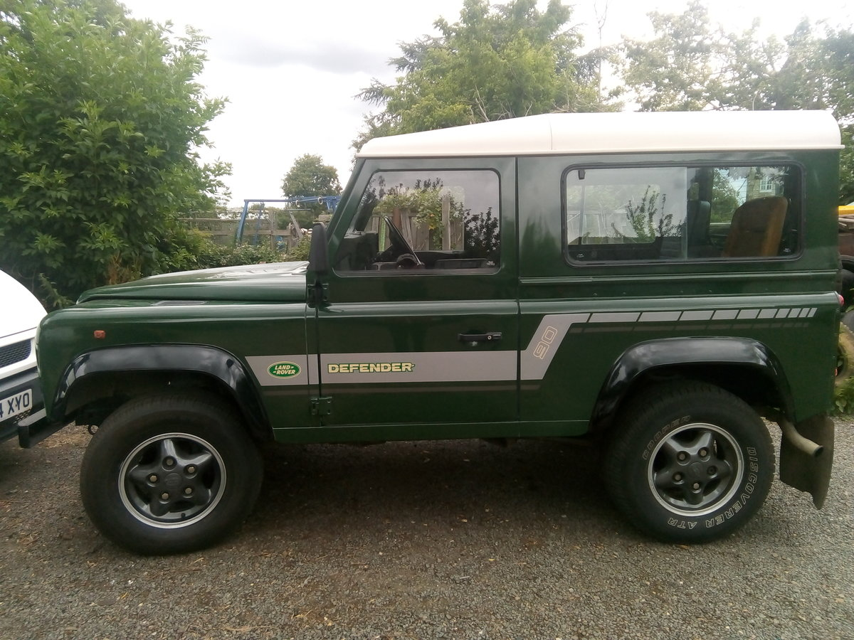 1996 Land rover defender 90,vgc,low miles,one owner For Sale (picture 2 of 6)