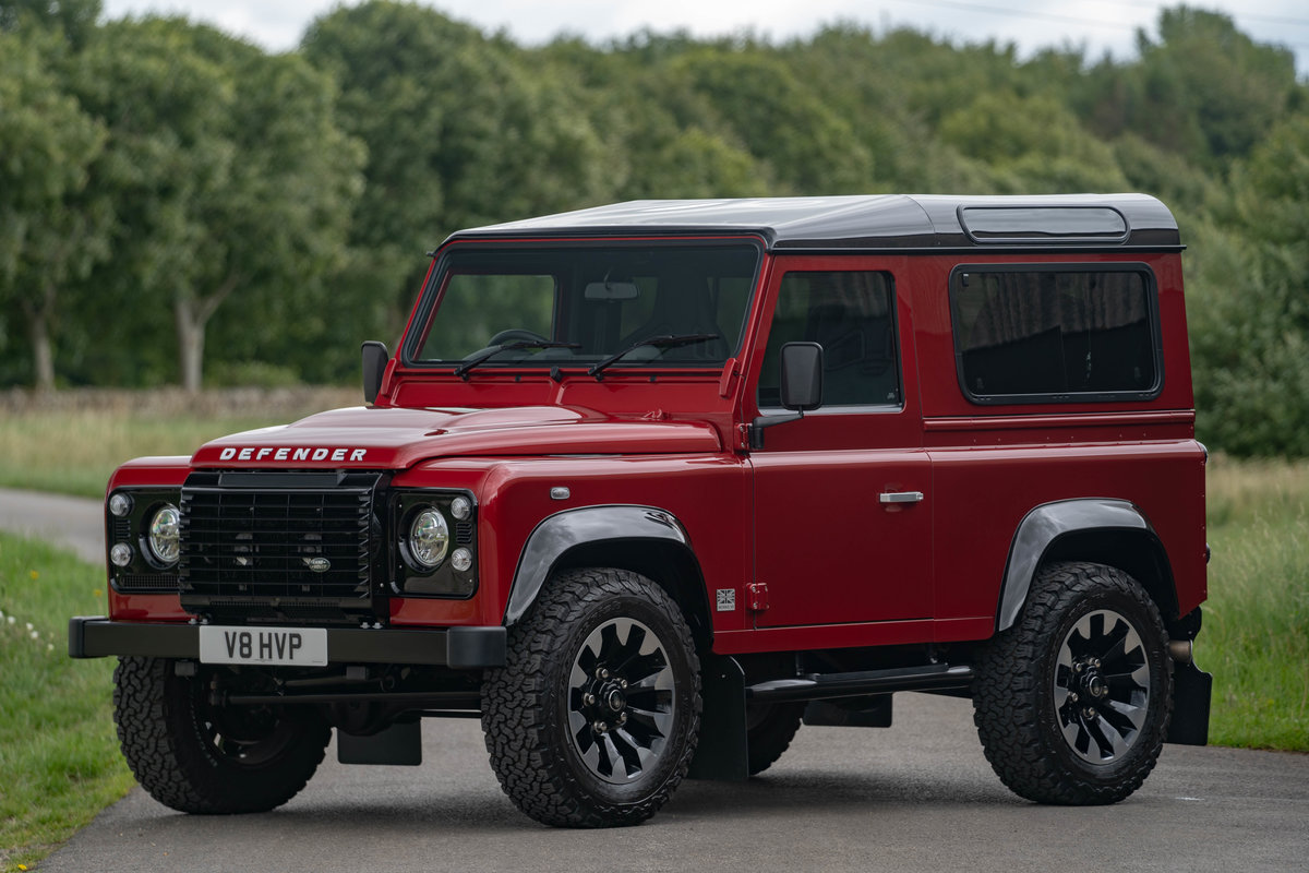 2019 Land Rover Defender Works V8 70th Edition For Sale (picture 1 of 6)