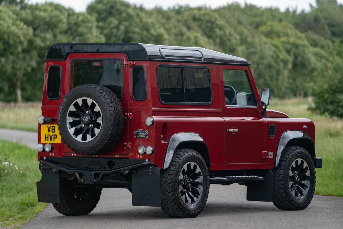 2019 Land Rover Defender Works V8 70th Edition For Sale (picture 2 of 6)