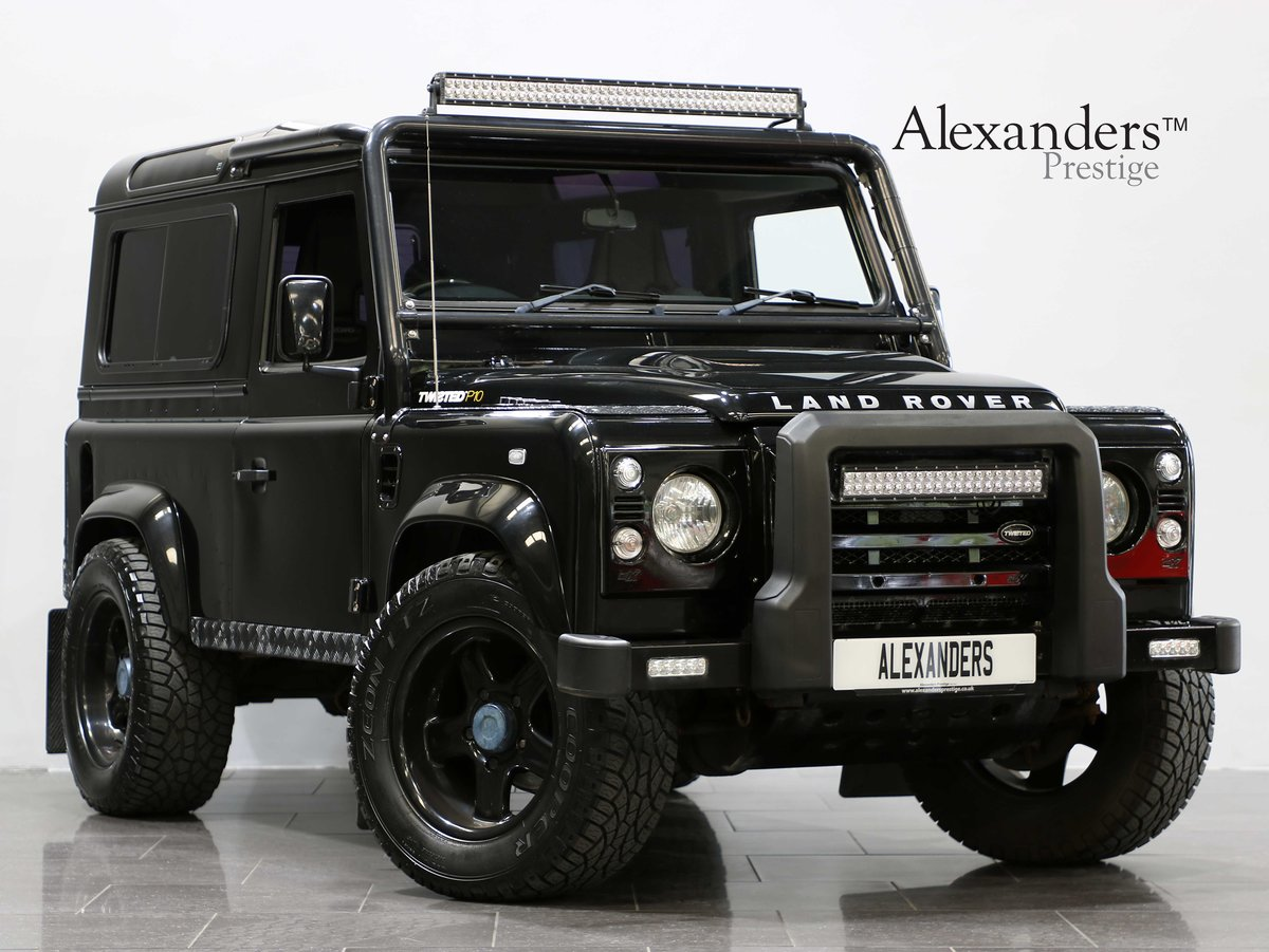 2010 10 10 LAND ROVER DEFENDER 90 XS TWISTED MANUAL For Sale (picture 1 of 6)