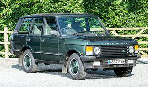 1990 Land Rover Range Rover Vogue EFI