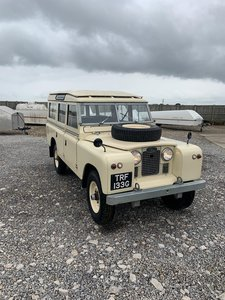 Land Rover® Series 2a 109 *Station Wagon with Galv Chassis*
