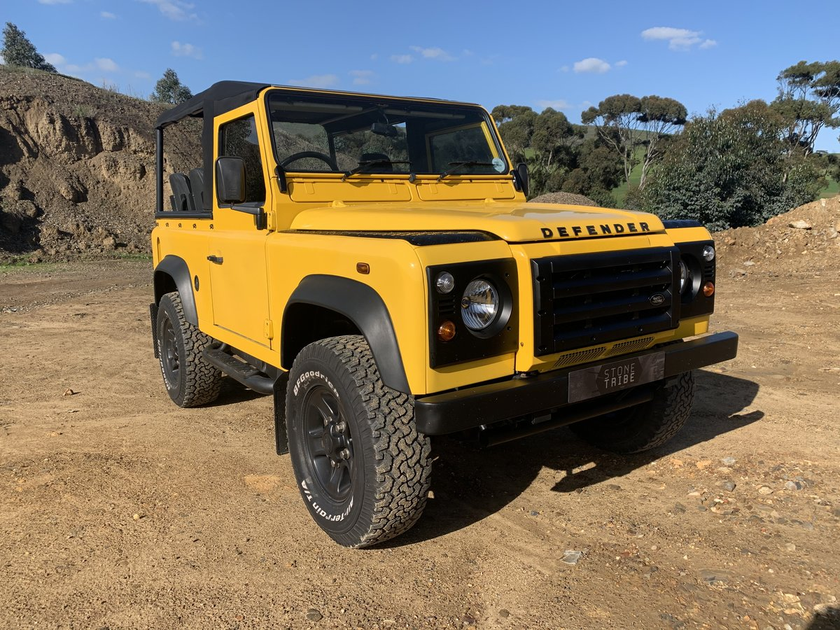 2000 Land Rover Defender 90 2.8i Soft-top For Sale (picture 1 of 6)