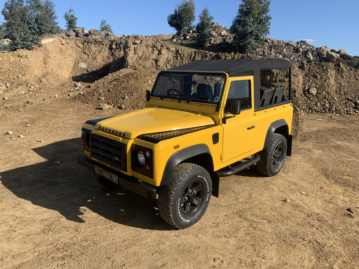 2000 Land Rover Defender 90 2.8i Soft-top For Sale (picture 2 of 6)