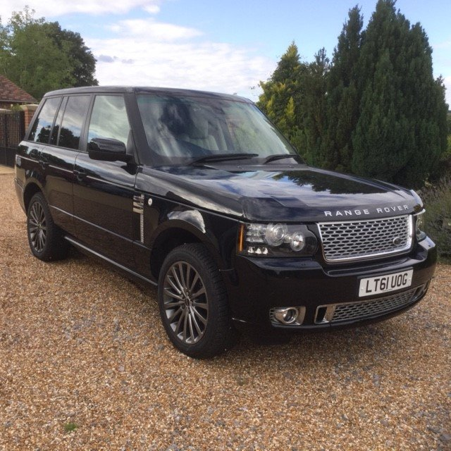 2011 Range Rover 4.4 TDV8 Autobiography Under 54000 Miles For Sale (picture 1 of 6)