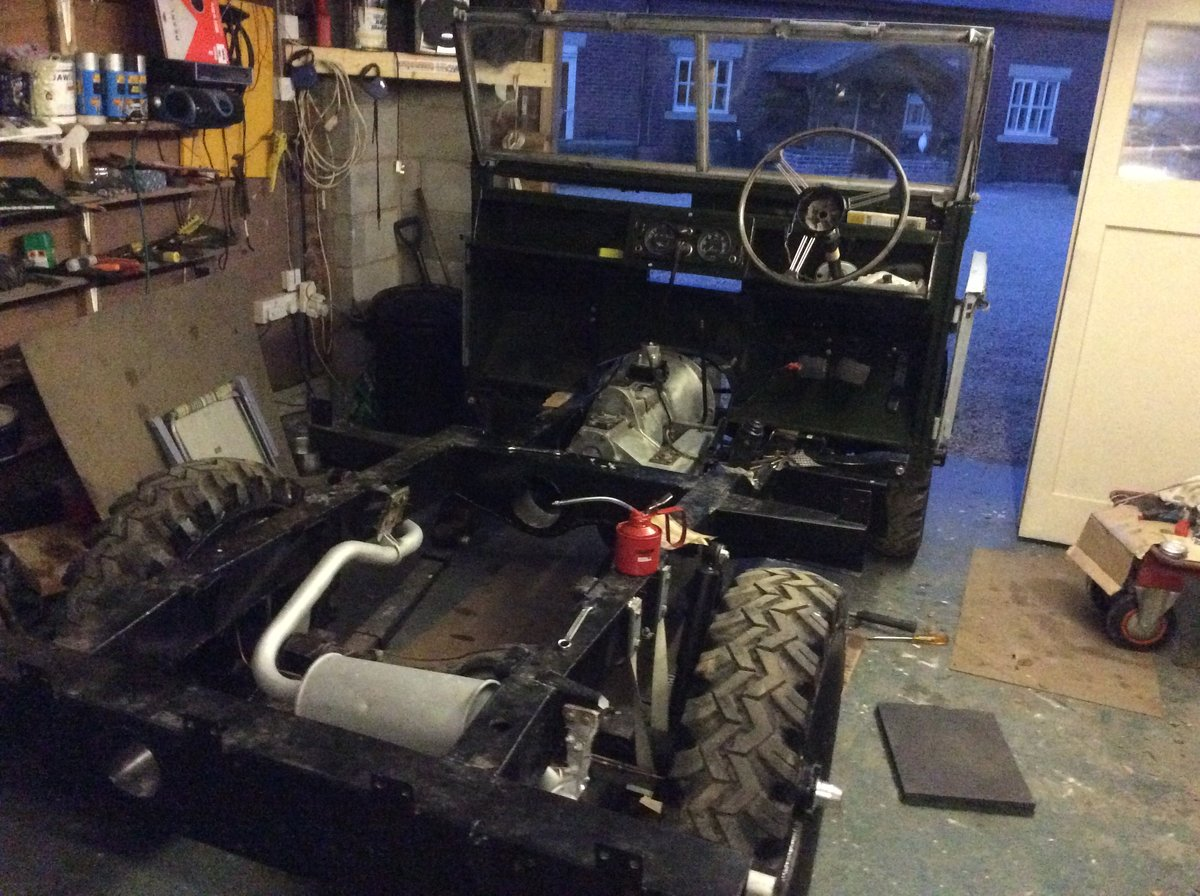 1956 Landrover series1 For Sale (picture 5 of 6)