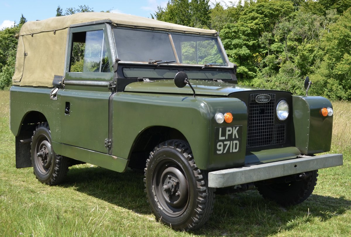 1966 Land Rover Series 2a  For Sale (picture 1 of 6)