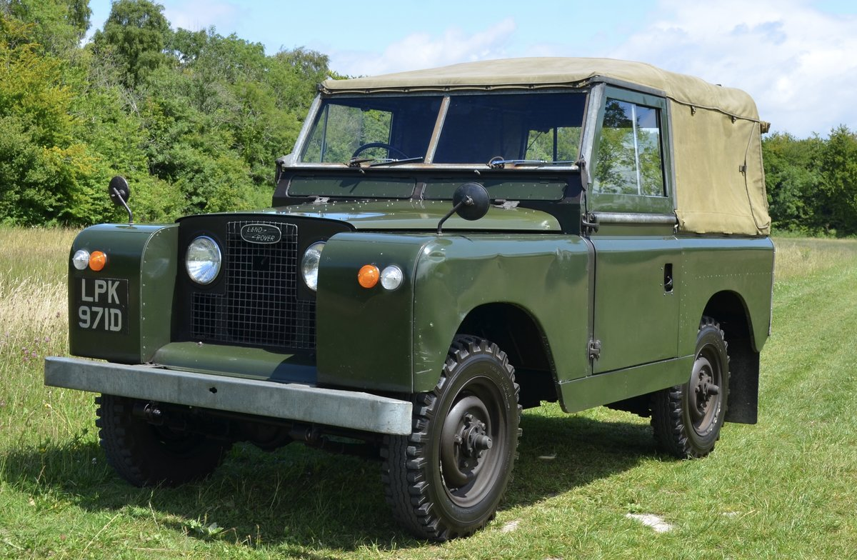 1966 Land Rover Series 2a  For Sale (picture 2 of 6)