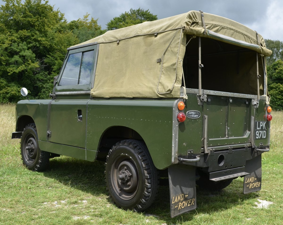 1966 Land Rover Series 2a  For Sale (picture 4 of 6)