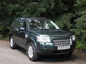 2009 Land Rover Freelander 2.2 SE TD4 Auto + 2 Former Keeper SOLD
