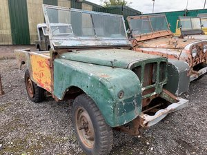 1950 Land Rover Series 1 80 inch FULL GRILL Project For Sale