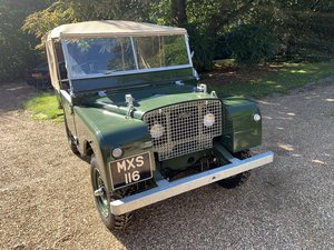 1953 Land Rover Series 1 Fully Restored  For Sale