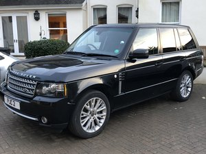 2012 Range Rover 4.4 Westminster For Sale by Auction