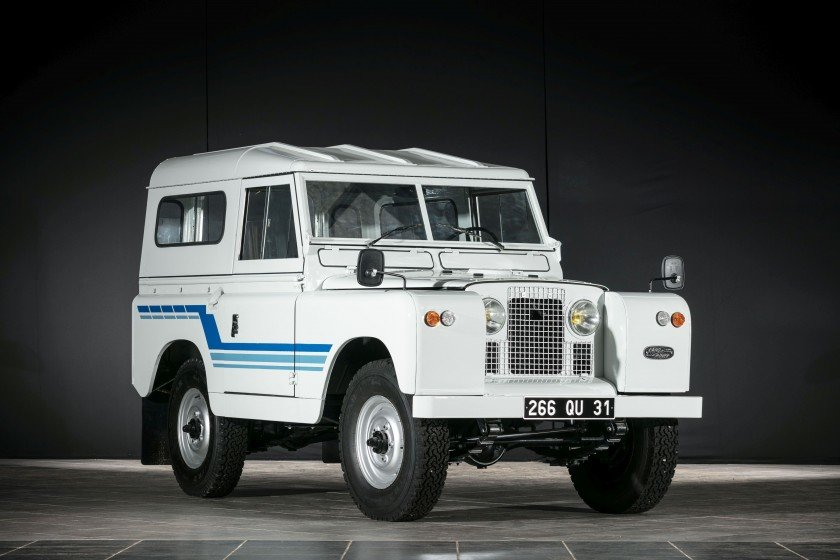 1968 Land Rover Série II A 88' Hardtop - No reserve  For Sale by Auction (picture 1 of 6)