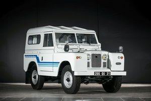 1968  Land Rover Série II A 88' Hardtop - No reserve