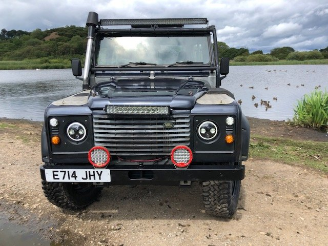 1987 LAND ROVER 90 300tdi Automatic Galvanised chassis & Bulkhead SOLD (picture 1 of 6)