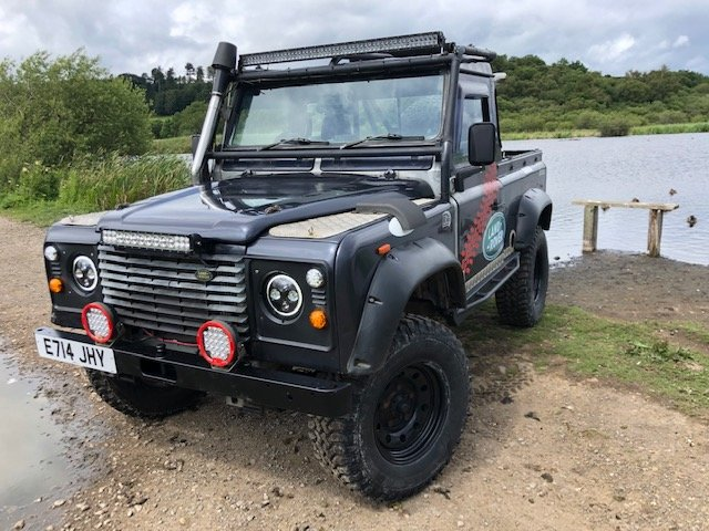 1987 LAND ROVER 90 300tdi Automatic Galvanised chassis & Bulkhead SOLD (picture 2 of 6)