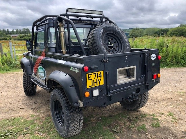 1987 LAND ROVER 90 300tdi Automatic Galvanised chassis & Bulkhead SOLD (picture 5 of 6)