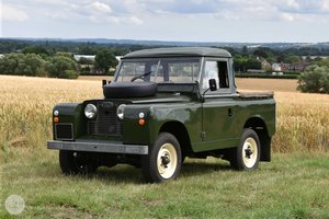 1959 Land Rover Series 2 SWB SOLD