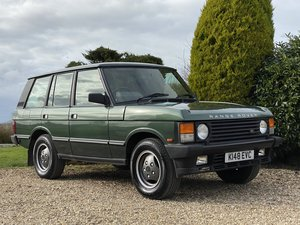 1992 Land Rover Range Rover Classic Only 73,000 Miles