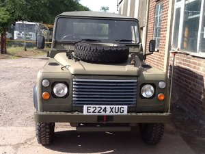 1987 Army Land Rover defender 90