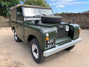 1961 Series IIa 88in petrol soft top + MOT 11/20 For Sale