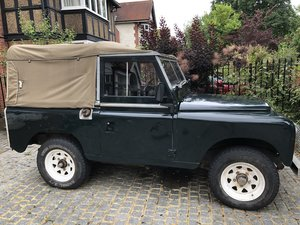 "Land Rover 3 Series III Petrol 88"" Soft-Top"