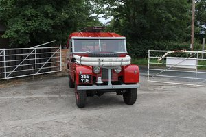 1958 Land Rover Series I Fire Tender