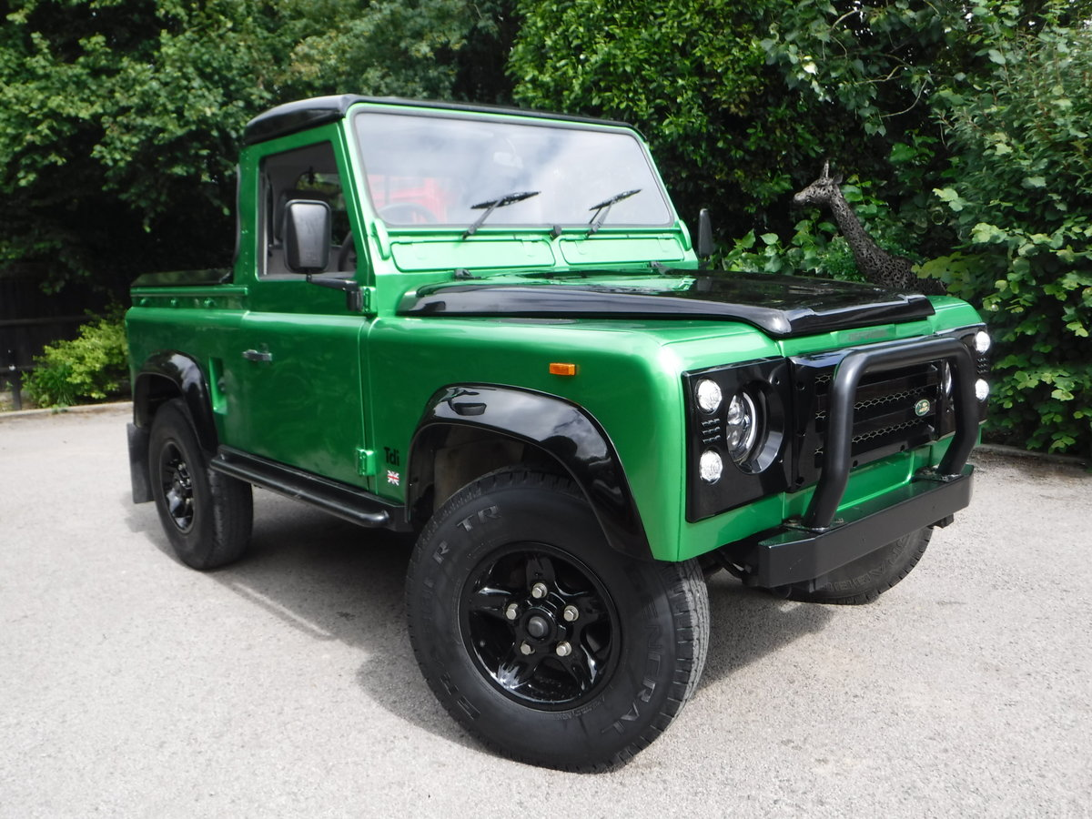 1993 Land Rover Defender 90 2.5 TDi Pick-Up 2dr BESPOKE For Sale (picture 1 of 6)