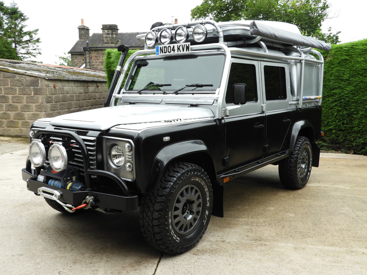 2004 LAND ROVER DEFENDER 110 2.5 TD5 XS DBL CAB EXPEDITION For Sale (picture 2 of 12)