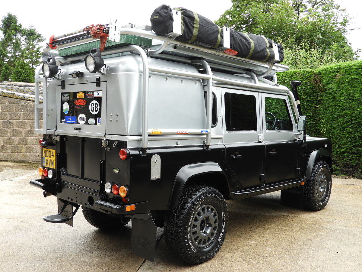 2004 LAND ROVER DEFENDER 110 2.5 TD5 XS DBL CAB EXPEDITION For Sale (picture 3 of 12)