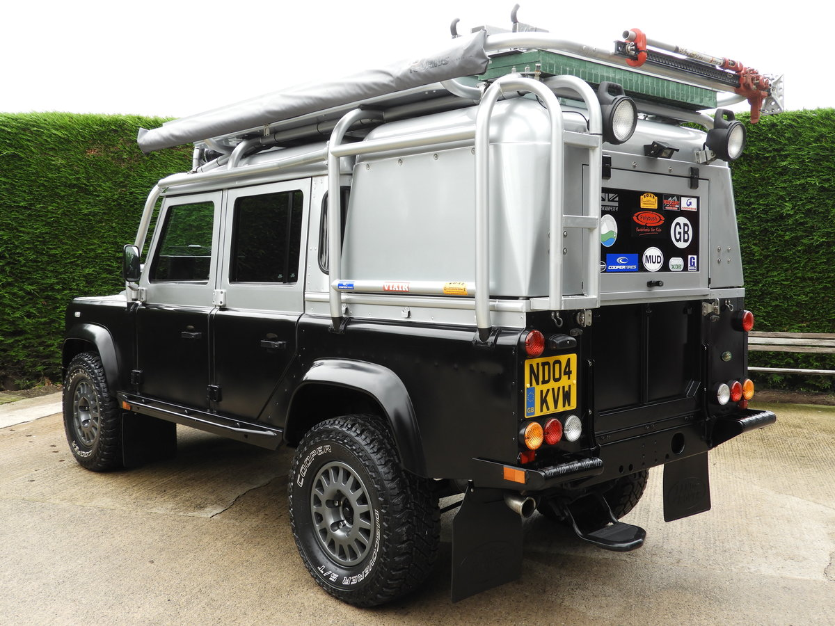 2004 LAND ROVER DEFENDER 110 2.5 TD5 XS DBL CAB EXPEDITION For Sale (picture 4 of 12)
