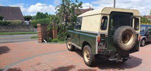 "1972 Land Rover Series 3 88"" Wheelbase Hardtop – Diesel"