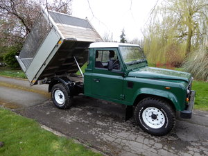 2005 Land Rover Defender 110 Tipper