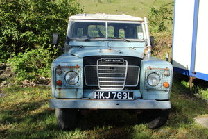 "Land Rover Series 3 88"" Van"