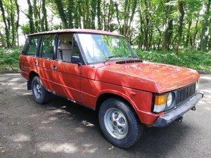 1984 Range Rover Classic SOLD