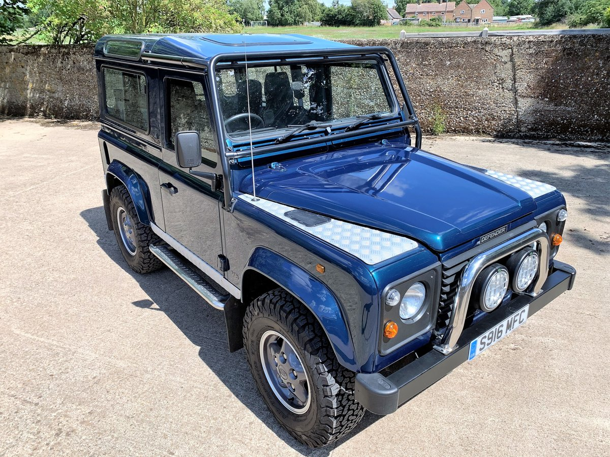 1998 defender 50th anniversary+Simon Durant restored+superb SOLD (picture 1 of 6)