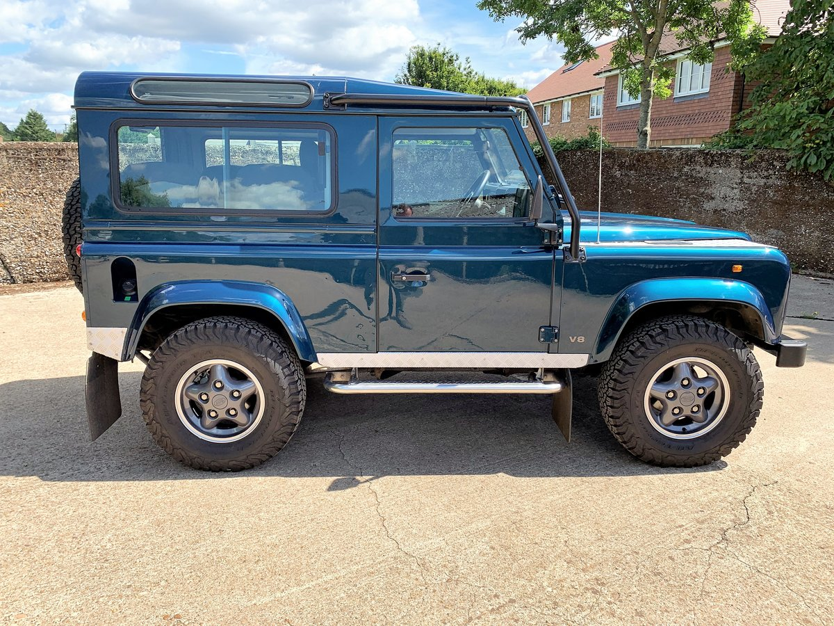 1998 defender 50th anniversary+Simon Durant restored+superb SOLD (picture 4 of 6)