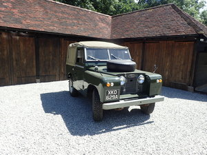 Series 2A Land Rover