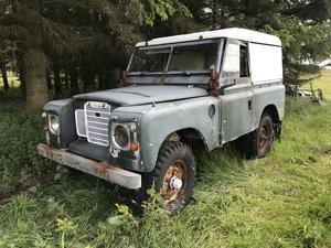 Land Rover Series 3 for full restoration