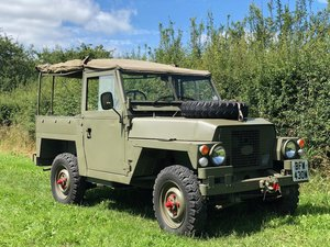 1981 Lightweight Land Rover Series 3 (FFR)